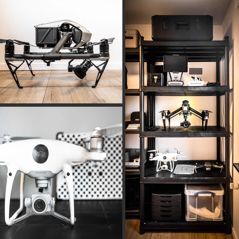 DJI inspire 2 dronepiloot belgie